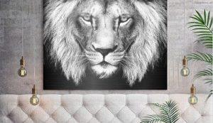 Ứng dụng máy in HP Latex canvas vải, nội thất