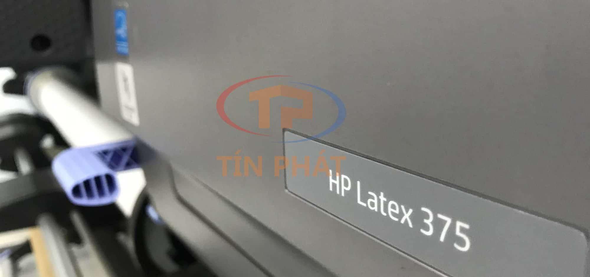 Máy in HP Latex đầu tiên tại Việt Nam sau 2 năm: HP Latex 375