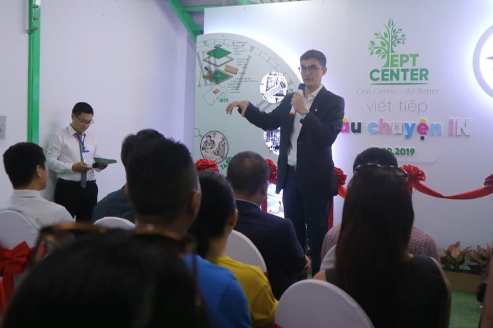 Khai trương trung tâm máy in HP Latex tại Việt Nam
