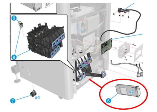 Bảo dưỡng hệ thống mực HP Latex COVID-19