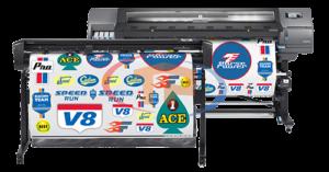 Máy in HP Latex 315 PNC Print and Cut In và Cắt khổ 1m37
